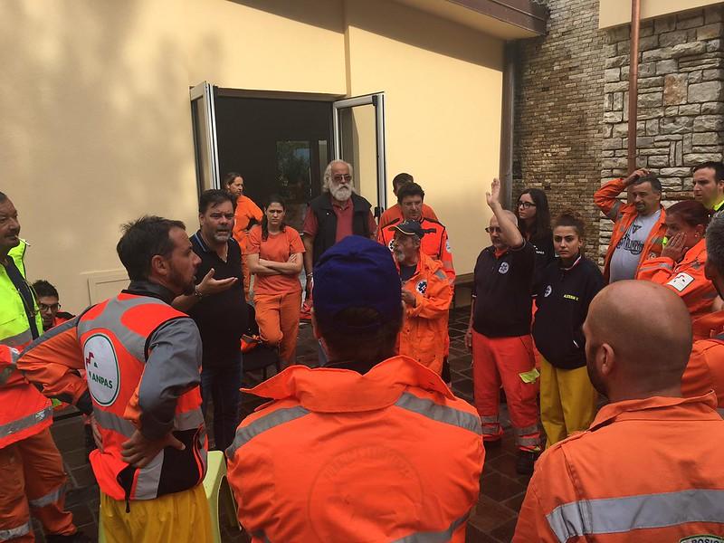 Emergenza maltempo Toscana: l'intervento dei volontari Anpas