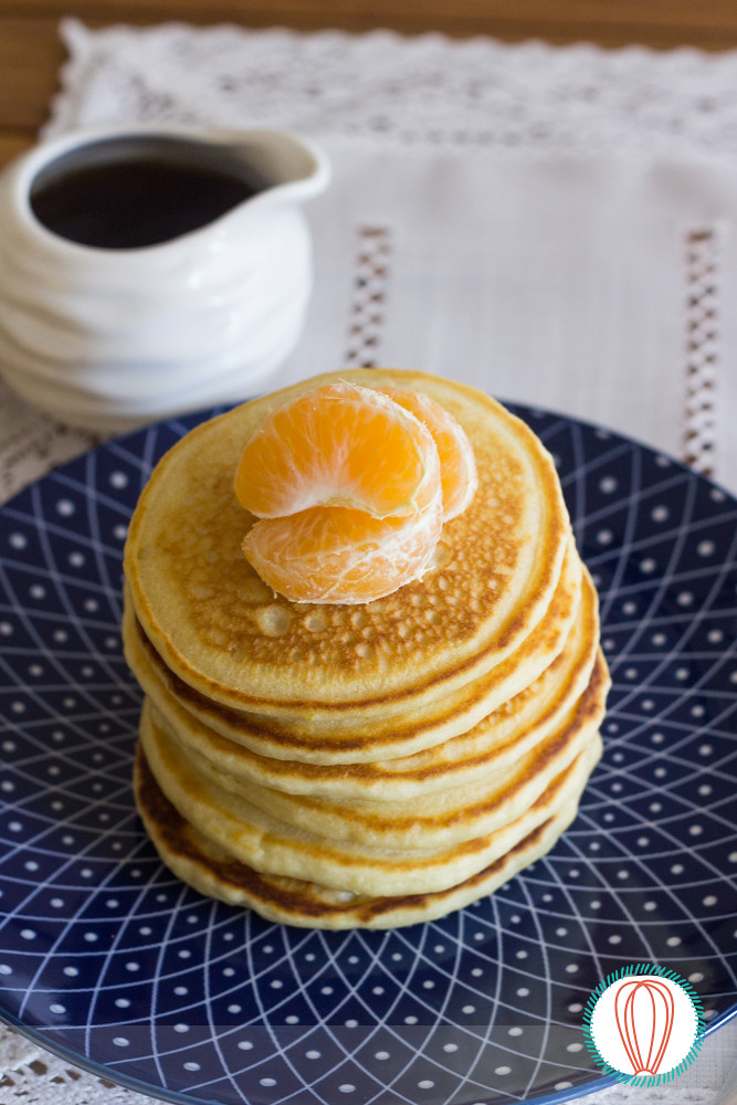 Tangerine Pancakes & Citrus Maple Syrup