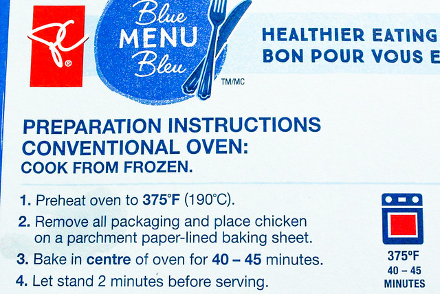 Product Review PC Blue Menu Harissa Stuffed Chicken Breasts