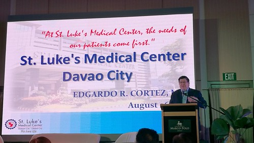 "DavaoLife.com : Dr. Edgardo ""Gary"" R. Cortez President & CEO of St. Lukes Medical Center Davao announcement Marco Polo Davao - IMG_20170826_193045_869"