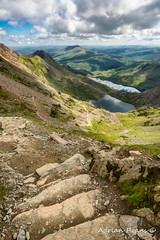 Pyg Track Glaslyn Lake