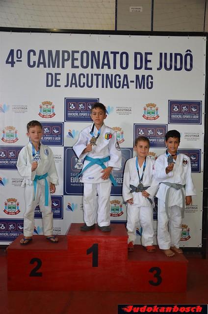 Pódios atletas 4º Torneio de judô de Jacutinga 17.09.2017
