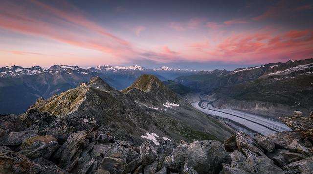 Alpenglow Switzerland