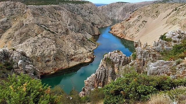 Croatie - Canyon de la rivère Zrmanja -2-