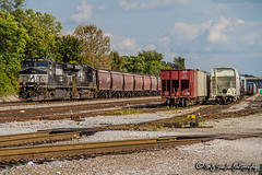 NS 9020 | GE C44-9W | BNSF Thayer South Subdivision