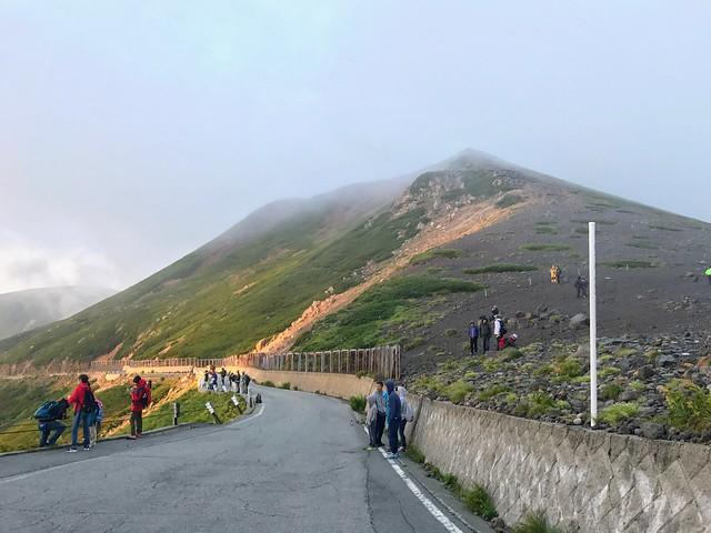 乗鞍岳 県境ゲートから富士見岳