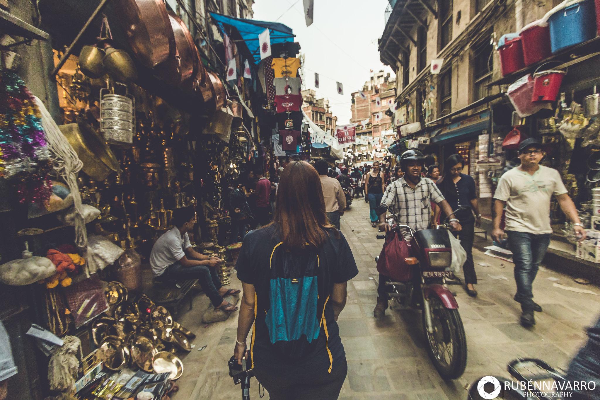 Visitar Katmandú - Thamel