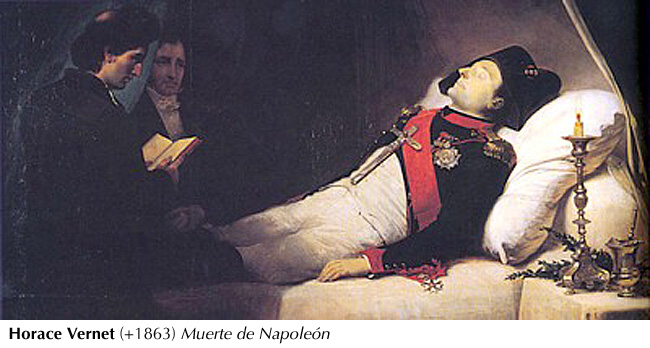 Vernet - Muerte de Napoleón