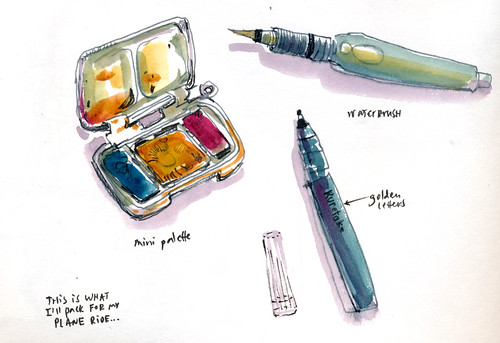 Sketchbook #105: Tools - My Mini Pocket Kit