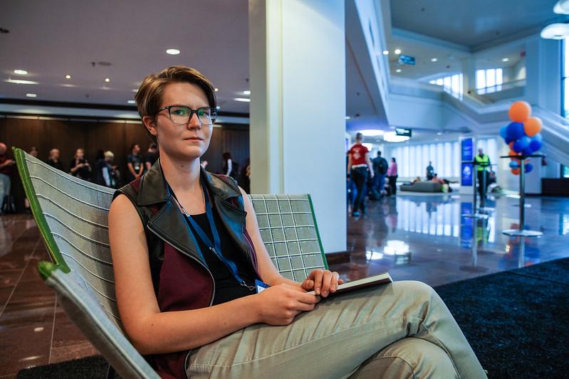 Tuula Helsinki Worldcon Worldcon75 Messukeskus