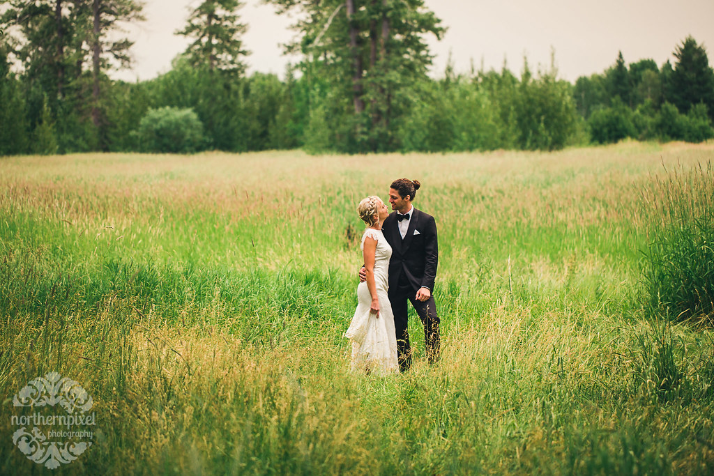 Farm Wedding - Prince George BC