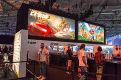 The Crew 2 Gaming-Ecke - Gamescom 2017, Köln