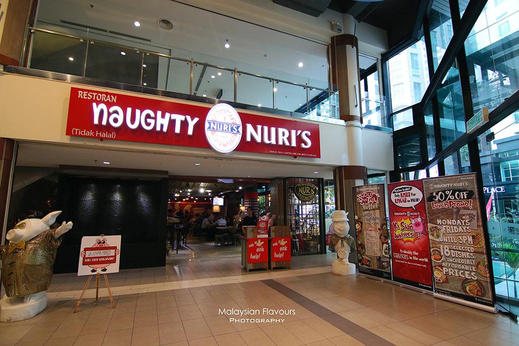 Naughty Nuri's Life Centre, Kuala Lumpur
