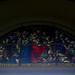 Vitral, iglesia Nuestra Señora de la Soledad av.2a-4, c.9-11/ Stainglass window, Our Lady of Solitude church 2a-4th av., 9th-11th st.