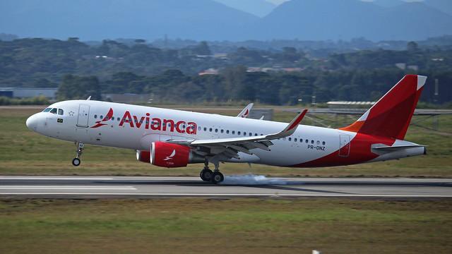 A320 AVIANCA PR-ONZ