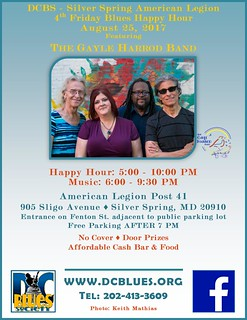 4th Friday Happy Hour Gayle Harrod Band August 25