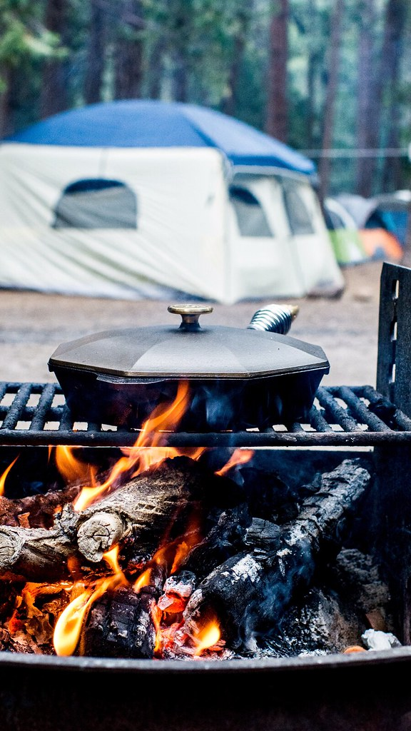Ideas for Camping Meals + Hiking Snacks