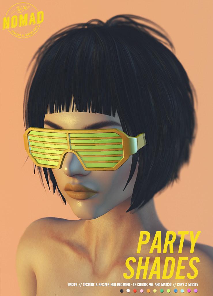 NOMAD // Party Shades - SecondLifeHub.com