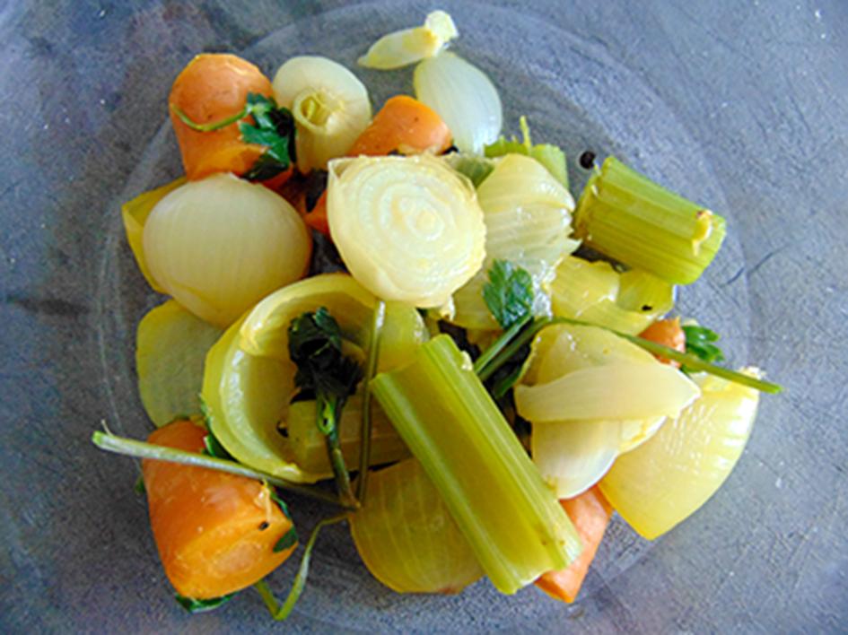 frittata al forno con le verdure del brodo6