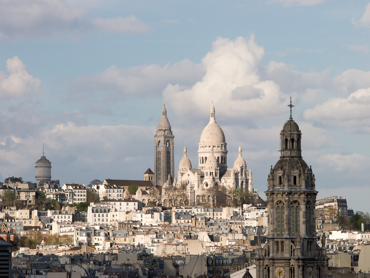 Näköala Pariisi Le Printemps