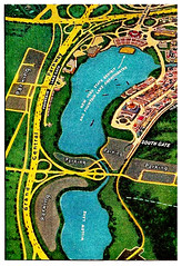 Meadow & Willow Lakes, 1939 New York World's Fair