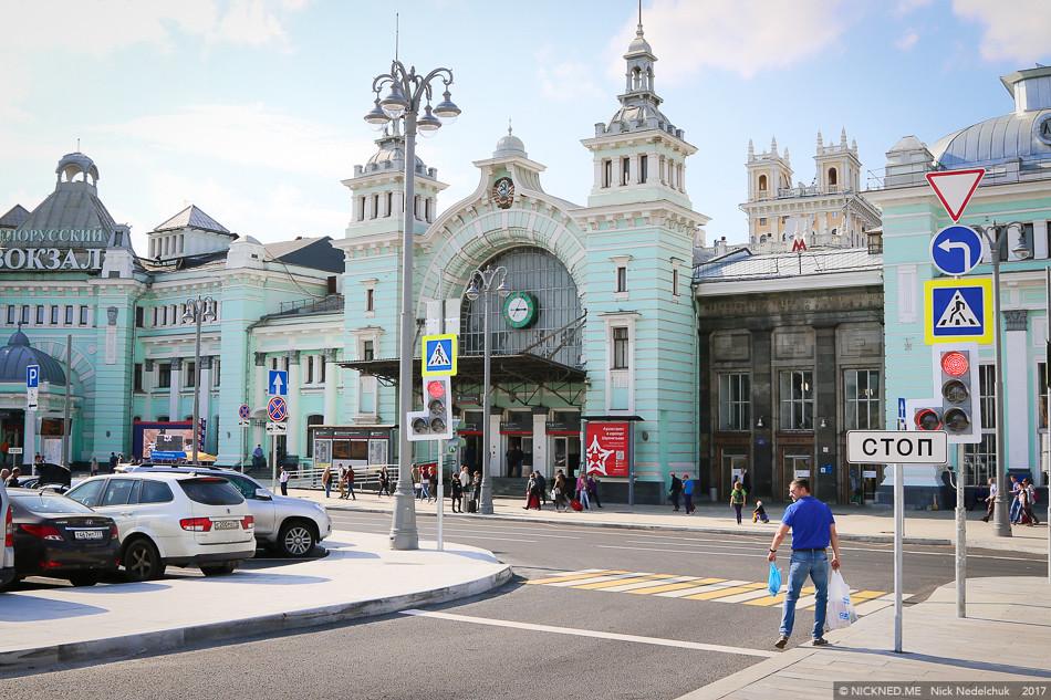 Площадь у Белорусского вокзала просто не узнать! IMG_4271