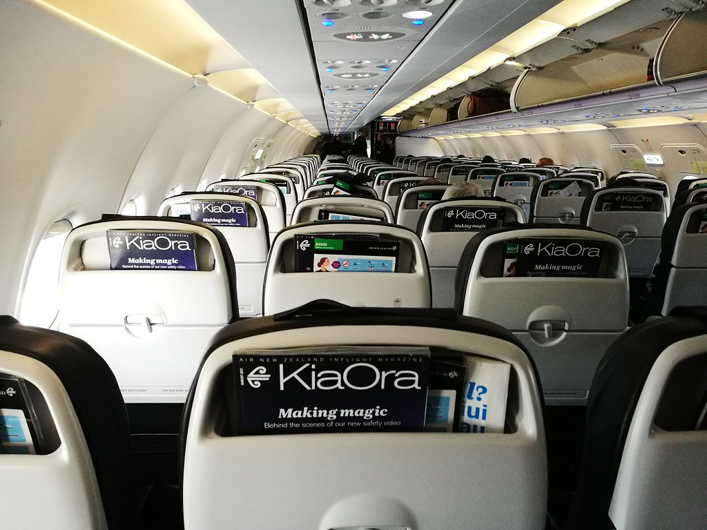 Inside Air NZ's A320
