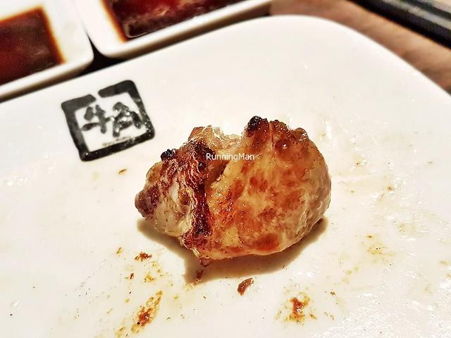 Cooked Kagoshima Beef Wagyu Nakaochi Karubi