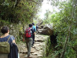 Chemin de l'Inca, Machu Picchu, Pérou
