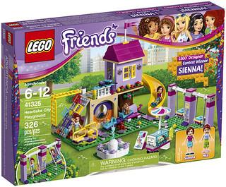 8歲就能有「自己」的樂高人偶?!LEGO 41325 好朋友系列【心湖鎮遊樂廣場】Heartlake City Playground