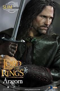努曼諾爾的後裔,漂泊北方的遊俠!!Asmus Toys 魔戒系列【亞拉岡】Aragorn 1/6 比例人偶作品