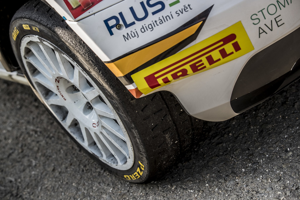 PIRELLI during the 2017 European Rally Championship ERC Barum rally,  from August 25 to 27, at Zlin, Czech Republic - Photo Gregory Lenormand / DPPI