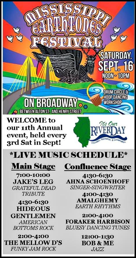 Earthtones Festival 9-16-17