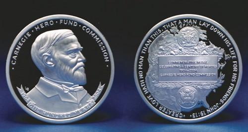Carnegie Hero Fund Centennial medal
