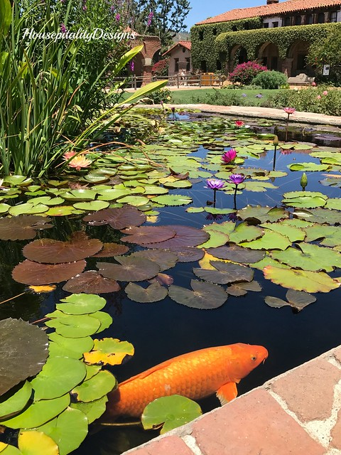 Mission of San Juan Capistrano-Water Garden-Housepitality Designs