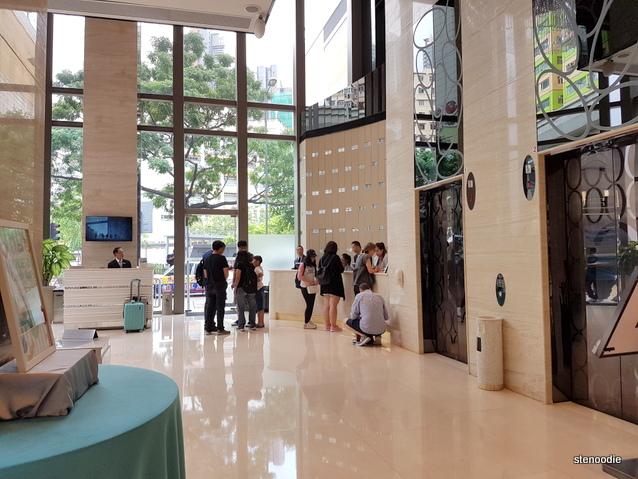 Dorsett Mongkok Hong Kong lobby