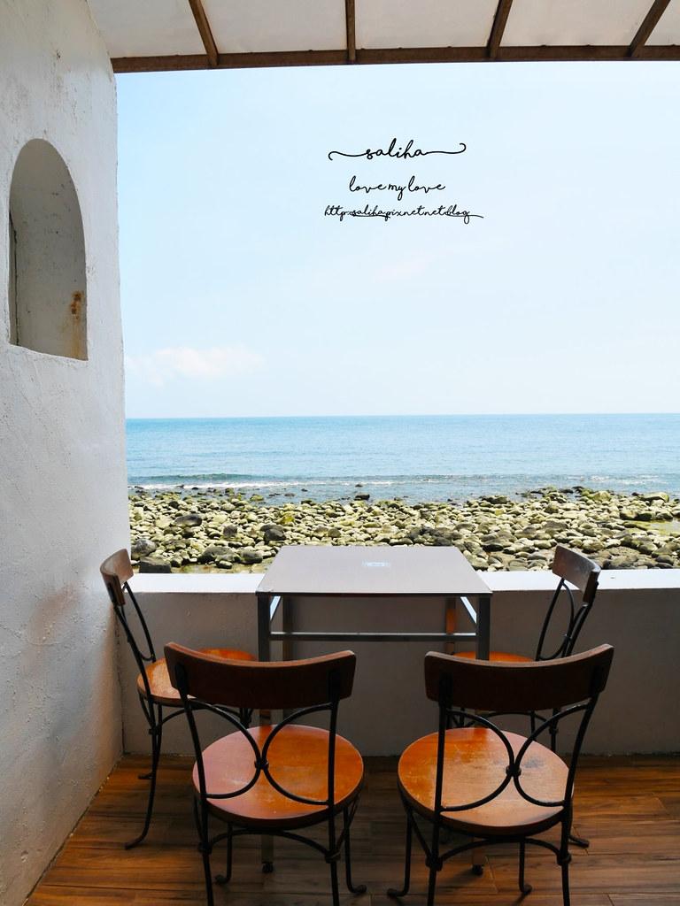 新北金山北海岸海景餐廳推薦洋荳子youngdoor cafe咖啡店