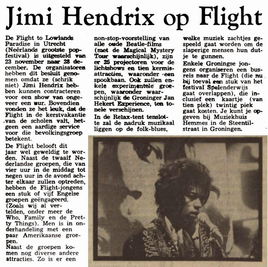 NIEUWSBLAD VAN HET NOORDEN (NETHERLANDS) NOVEMBER 8, 1968