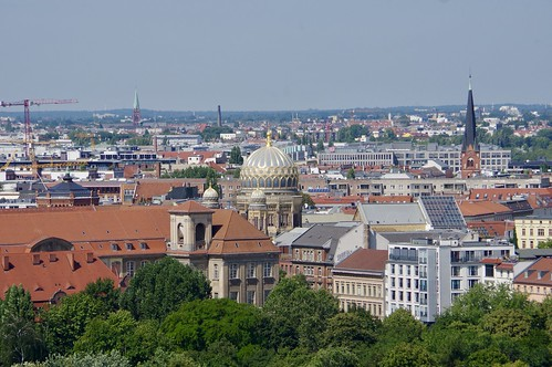 Looking North from the Top of Berlin Cathedral (Berliner Dom)