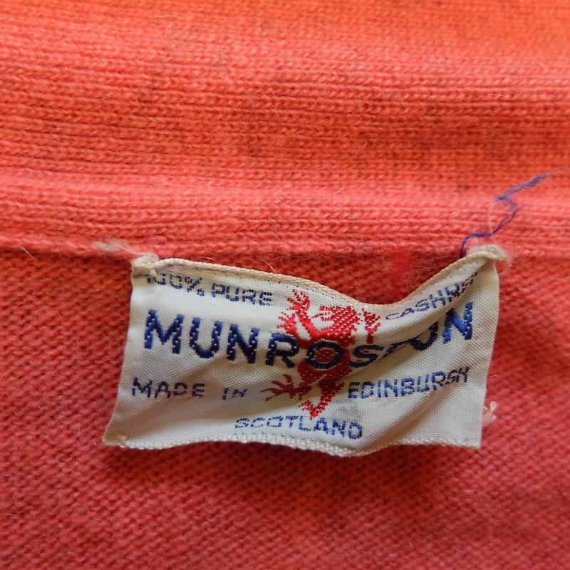 1960s Munrospun cardigan @porcelinasworld