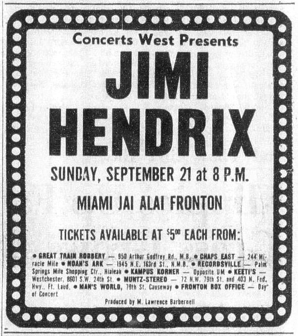 Miami Hurricane, Florida 1969-09-19