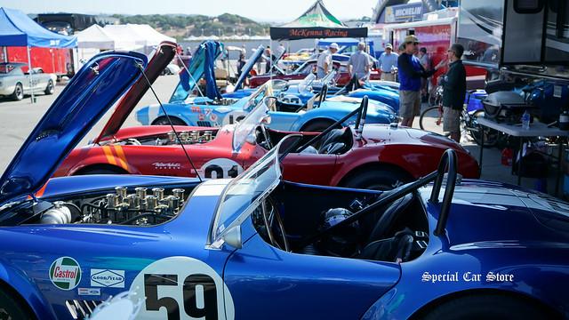 at Rolex Monterey Motorsports Reunion at the Mazda Raceway Laguna Seca 2017
