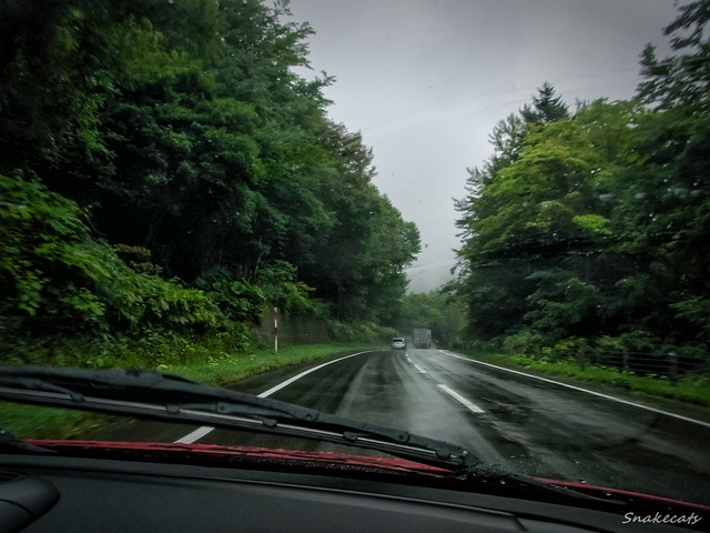 Photo:A Wet Road By snakecats