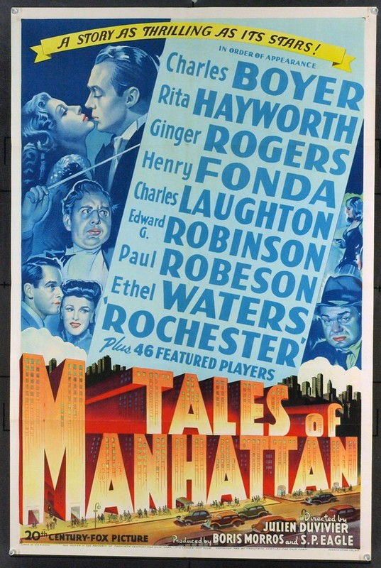 Tales of Manhattan - Poster 1