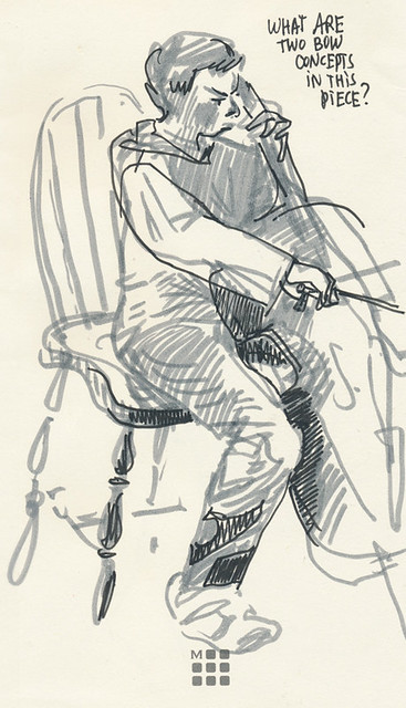 Sketchbook #107: Cello
