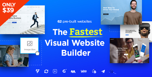 Massive Dynamic v4.5.1 – WordPress Website Builder