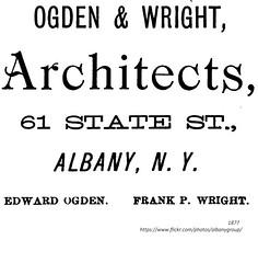 Ogden and wright architects  1877 albany ny