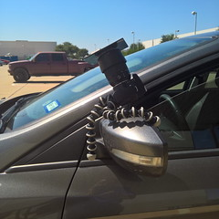 Make-shift eclipse rig. #usewhatyougot