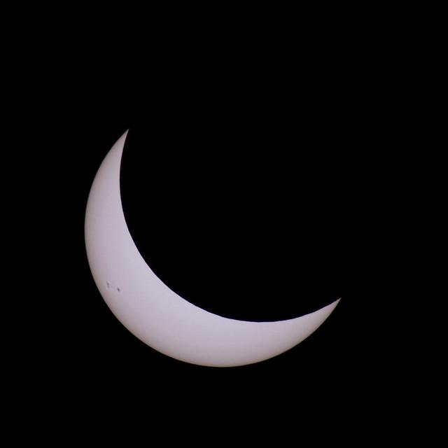 eclipse - August 21, 2017, Pentax K-50, A Series Lens