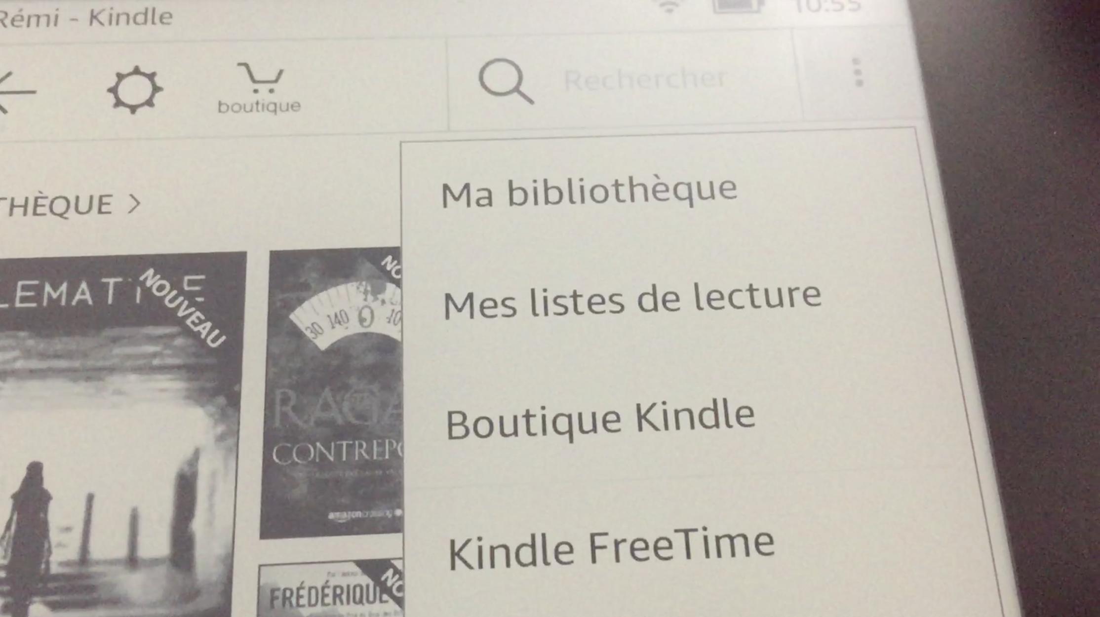 20170827 Test de la liseuse électronique Kindle OASIS Amazon 26